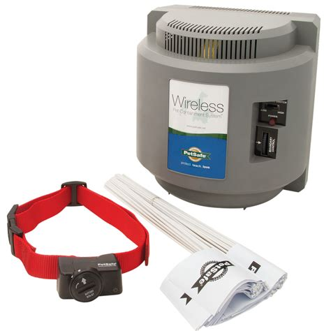 wireless fences wireless pet containment system by petsafe pif 300