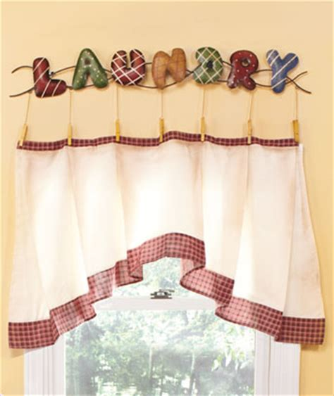 cute laundry room curtains cute laundry room accents curtain her and clock ebay