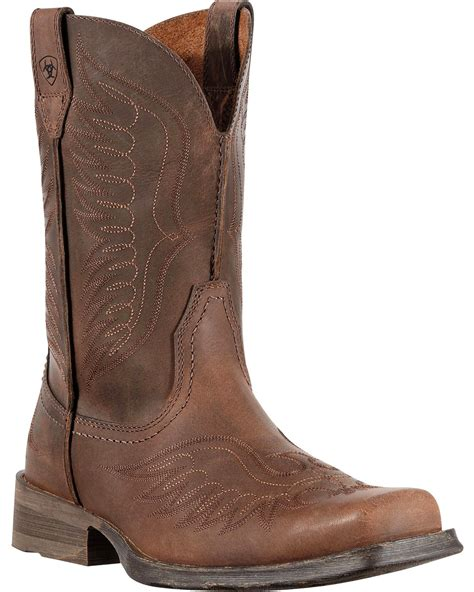 ariat rambler boots ariat rambler cowboy boots square toe country