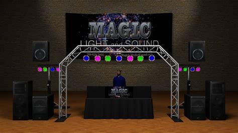 lights setup lighting audio setup exles
