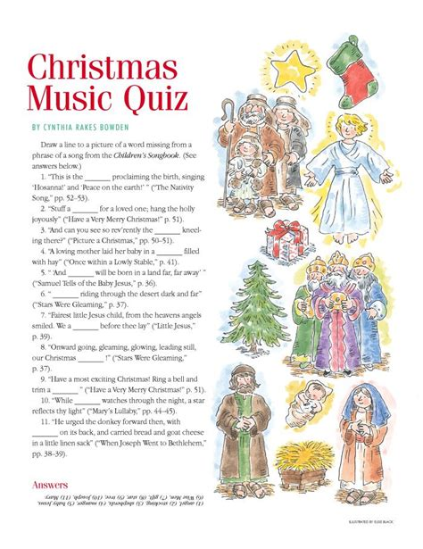 christmas lds music quiz from quot the friend quot christmas