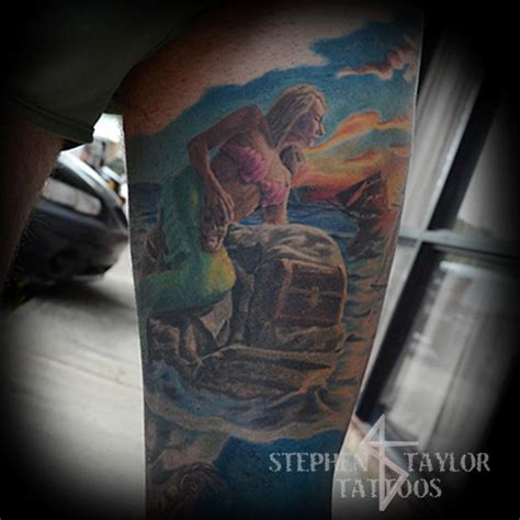 mermaid by stephen taylor tattoonow