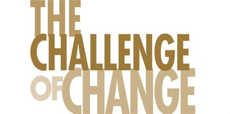 the challenge of change bized magazine