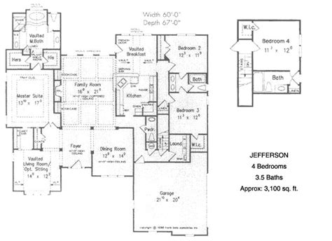 4 bedroom ranch style house plans unique ranch house plans the ranch style jefferson