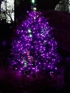 white christmas tree with purple lights purple tree lights home decor