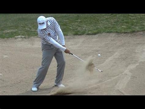 wedge golf swing slow hd 2013 louis oosthuizen bunker sand wedge golf