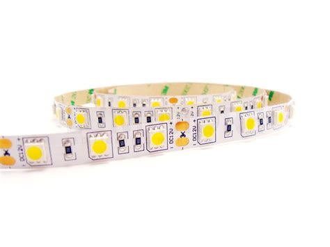 5050 Led Light Strips Buy Led Light 5050 White 60led M 14 4w 1000lm Dc 12v Ip20 From China