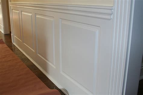 Square Panel Wainscoting Raised Panel Wainscot Flickr Photo