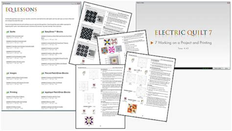 Eq7 Quilting Software by Electric Quilt 7 Quilting Assistant Software Eq7 Ebay