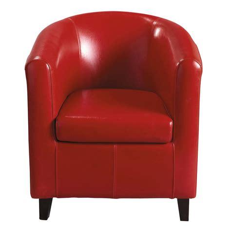 poltrona rossa poltrona club rossa nantucket maisons du monde