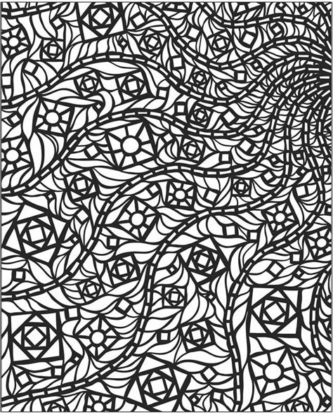 mosaic coloring books mosaic coloring 6 colouring pages stains