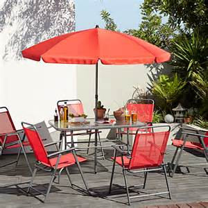 cuba 8 patio set garden furniture asda direct