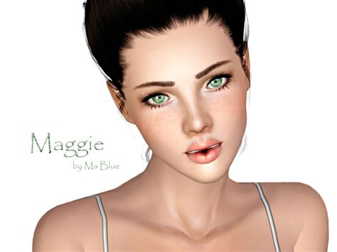 by levitas tags sim sims model sims3 female sims3 modeli sims 3 3d models female ms blue s maggie blue