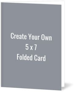 Cheap Create Your Own Templates Invite Shop 5 X 7 Folded Card Template