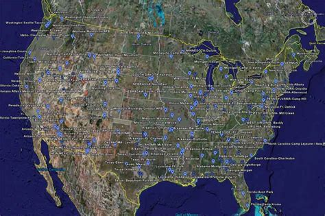 fema map fema concentration cs locations and executive orders