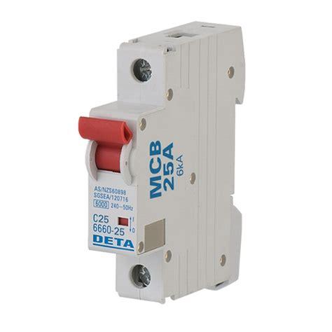 Miniature Circuit Breaker deta 25 miniature circuit breaker bunnings warehouse