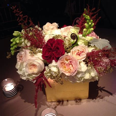 Burgundy Blush And Gold Centerpiece Christmas Wedding Burgundy Wedding Centerpieces