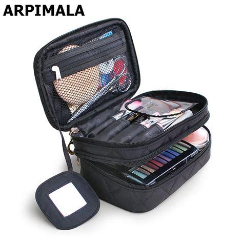Big Sale Tas Travel Bag In Bag Organizer Gray aliexpress buy arpimala 2017 luxury cosmetic bag professional makeup bag travel organizer