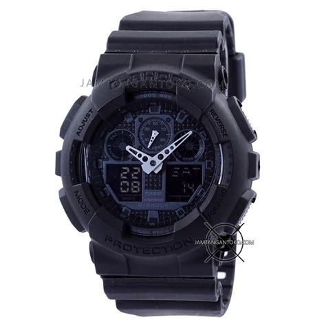 Jam Tangan Gshock Ga 100 Original Bm harga sarap jam tangan g shock ga100 1a1 black