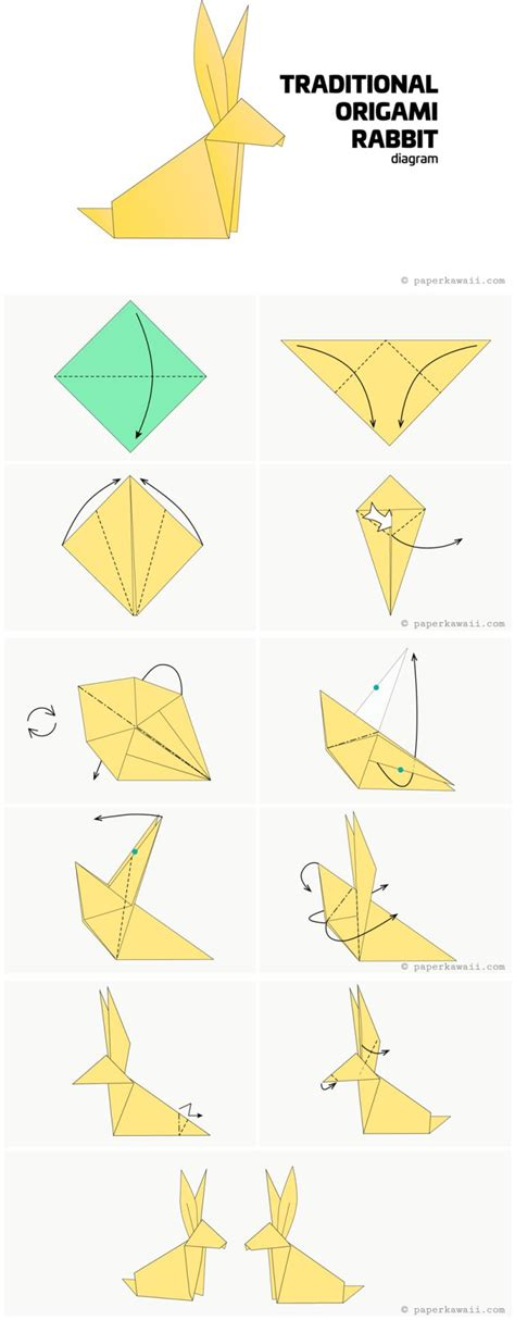 Origami Animals Rabbit - best 20 origami animals ideas on pinterest no signup