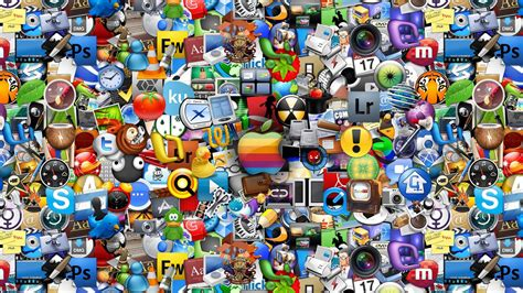 desktop background with apps collection of app icons hd wallpaper 187 fullhdwpp full hd