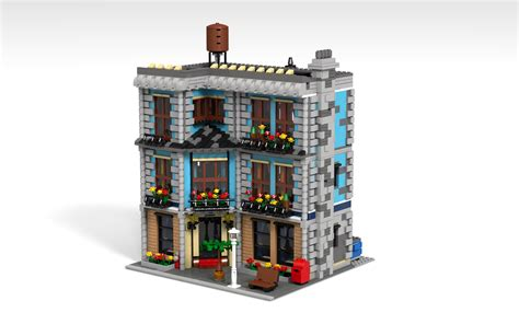 lego creator haus the gallery for gt lego parisian restaurant
