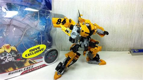 Transformers Deluxe Exclusive Canister Bumblebee transformers dotm wal mart exclusive bumblebee