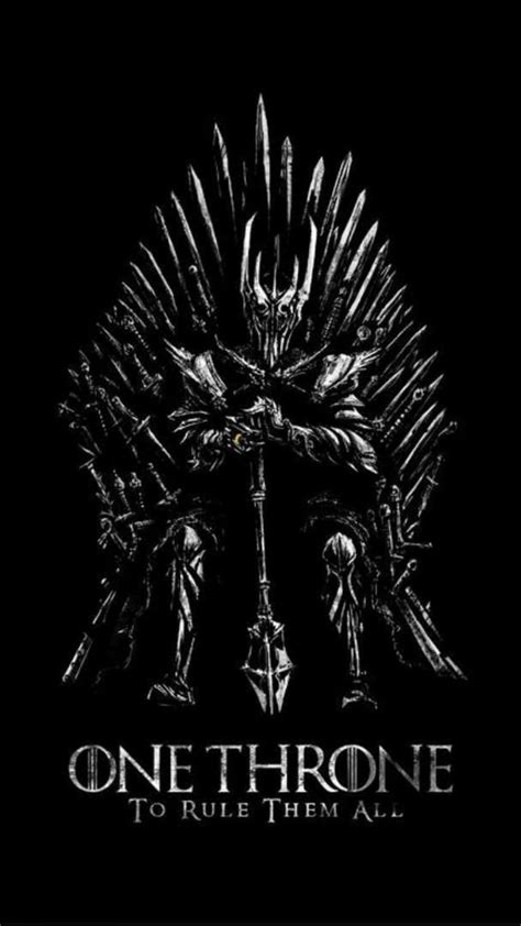 lord  rings game thrones iron throne wallpaper