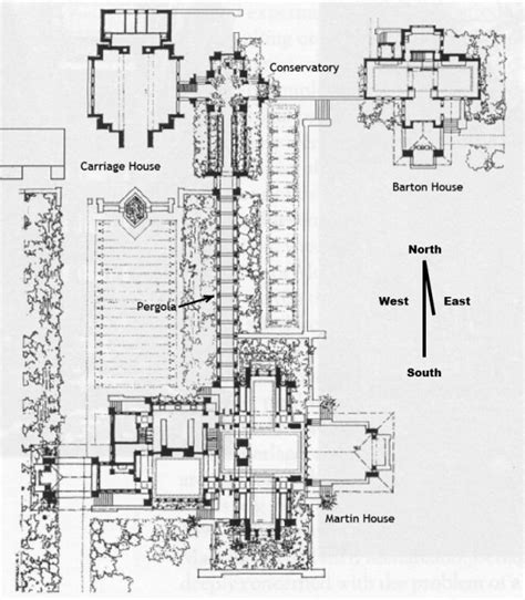 Architect House Plans frank lloyd wright s magnificent darwin martin house in