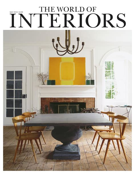 World Interiors by The World Of Interiors May 2016 By Cond 233 Nast Digital Issuu