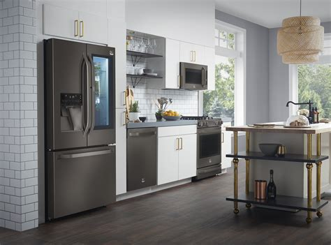 stainless steel kitchen appliances that don t show lg debuts expanded nate berkus inspired lg studio 2017