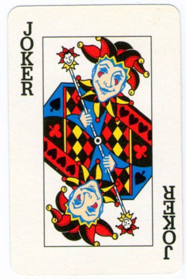printable joker card nice vintage and jokers on pinterest