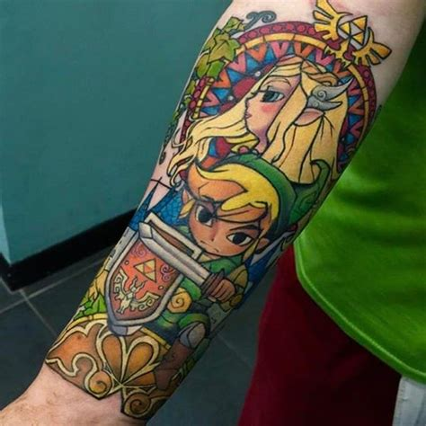 nintendo sleeve tattoo designs 45 and triforce tattoos for nintendo devotees