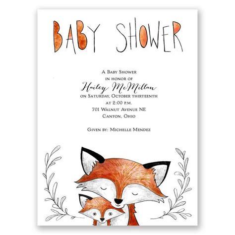 Woodland Themed Baby Shower Invitations by Best 25 Fox Themed Nursery Ideas On Woodland