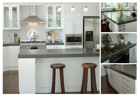 white kitchens grey bench tops kitchen benchtop design ideas get inspired by photos of