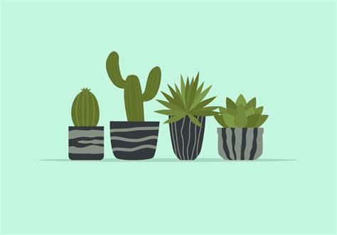 potted plant vector illustration   vectors