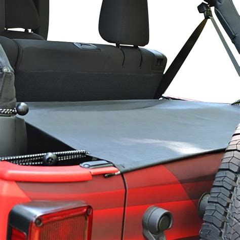 Jeep Cargo Cover Steinjager 174 Jeep Wrangler 2007 2017 Cargo Cover