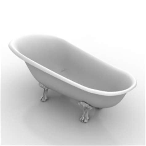 model in bathtub sanitary ware 3d models bath n190408 3d model gsm