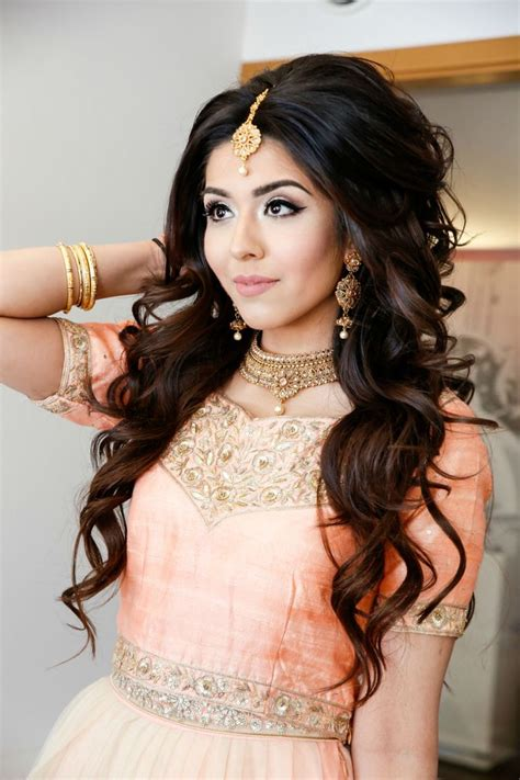 hairstyles for indian princess how to do hair and makeup for enement photos makeup