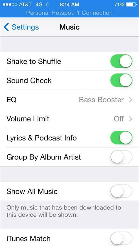 if iphone settings iphone app settings