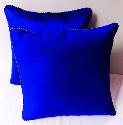 royal blue couch pillows royal blue throw pillow 18 inch decorltive cushion covers with
