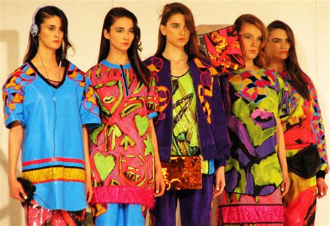 Graduate Fashion Week Trendwatch Nineties Neon by Design Magazine Brilliant Colour And Bold Forms At