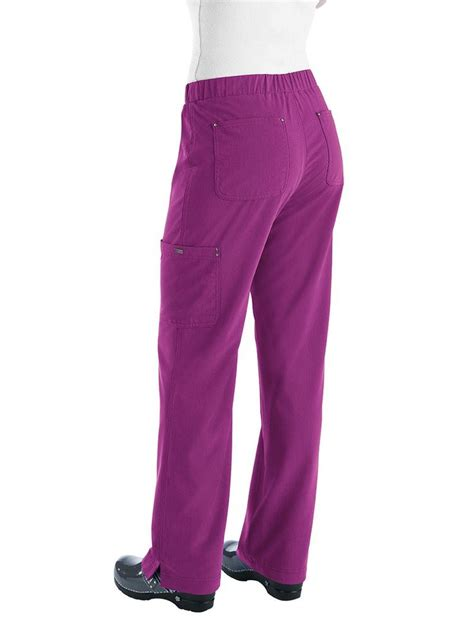 most comfortable scrub pants koi sapphire lillian elastic waist cargo scrub pant i
