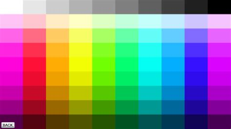 what color is the c color table algorithm stack overflow