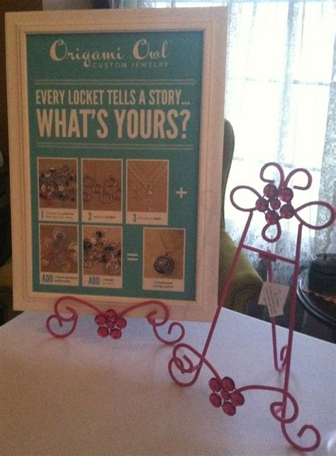 Origami Owl Events - display easel hobby lobby woodworking projects plans