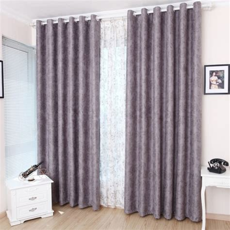 Faux Suede Blackout Curtains Beautiful And Floral Purple Blackout Curtains Of Faux Suede
