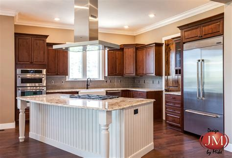 Kitchen Center Island Cabinets by New Center Island Kitchen Design In Castle Rock Jm