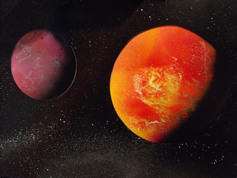 spray paint planets how to paint an amazing space