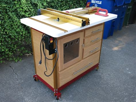 cabinet enclosure for incra router table by todd510