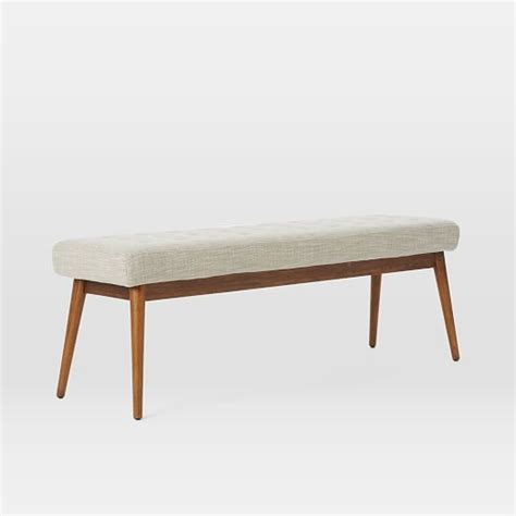 west elm tufted bench tufted dining bench west elm